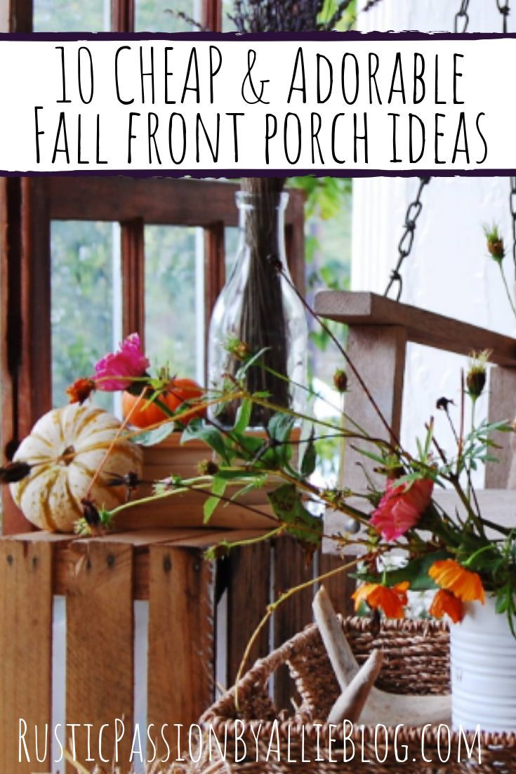 10 Stunning Ideas For Fall Decorations For The Porch Fall Decor Fall Front Porch Ideas Fall Decor Diy