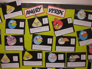 CC Cycle 2, Week 16 - Angry Verbs!  Awesome!