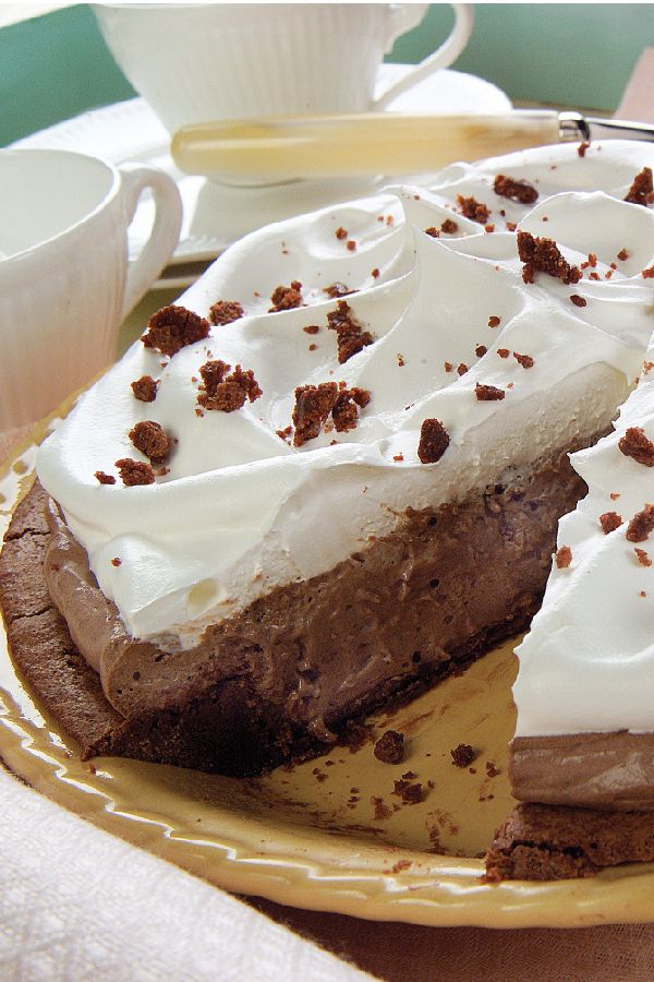 Mile High Fudge Brownie Pie – Not actually a full mile, but we're talking a pie recipe with stunning height. Fudge brownies, pudding, and whipped-topping dreaminess rival your favorite diner dessert.