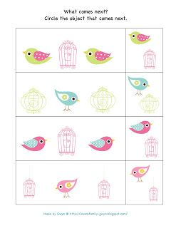 Preschool Printables: Spring