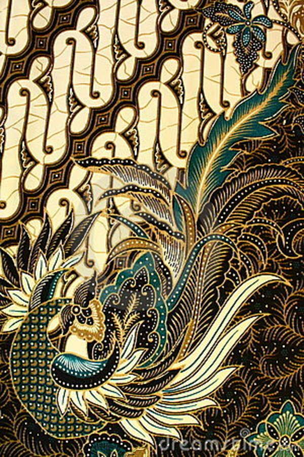 Batik Pattern, Indonesia Stock Photo - Image: 15353270