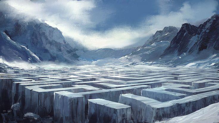 Speedpaint__Ice_Labyrinth_by_I_NetGraFX.jpg 1,024×576 pixels