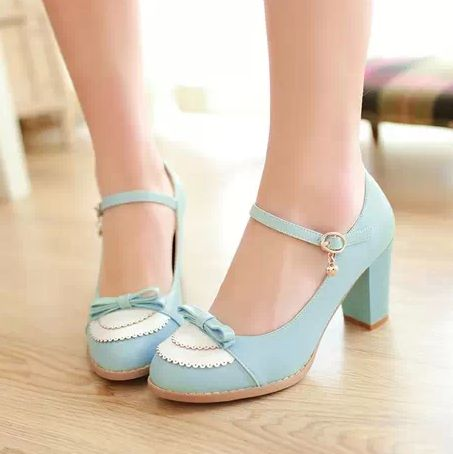 We+offer+FREE++and+fast+worldwide+delivery+for+this+item,+within+72+hours+from+your+purchase.    New+Moooh!!++2014+shoes+collection.+Cute+Bow++Lolita++Shoes.+    More+Details:  Material:+High+quality+man+made+leather.  Measurements:+Heel+8cm+(divide+by+2,54+for+the+sizes+in+inches)++  Sizes:+Avai...