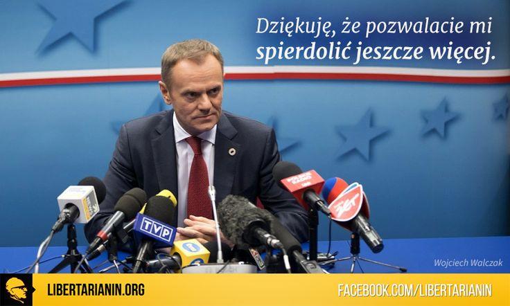 #tusk #donald #polska #unia #europejska #parlament #europejski #premier #byly #niszczenie #czlowiekdemolka #demolka #po #etatysci #etatyzm