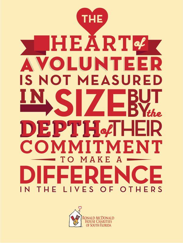 Ronald McDonald House Charities Thank you Poster Design by Arlene Delgado, via Behance