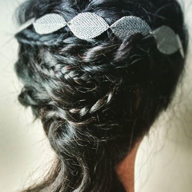 #peinadosdenovia #trenzas #torcidos #tocados
