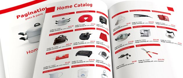 InDesign Product Catalog Template - 3 columnns