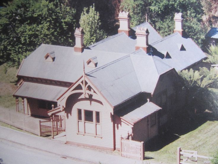 The former post office, Walhalla, Victoria.