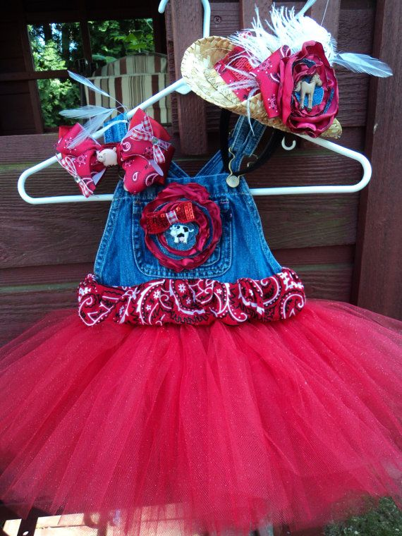 overall tutu dress too cute. To bad mine don't like the tutus