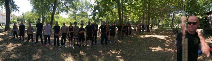 #allenamento #KravMaga #IKMF al parco durante il #SummerCamp.