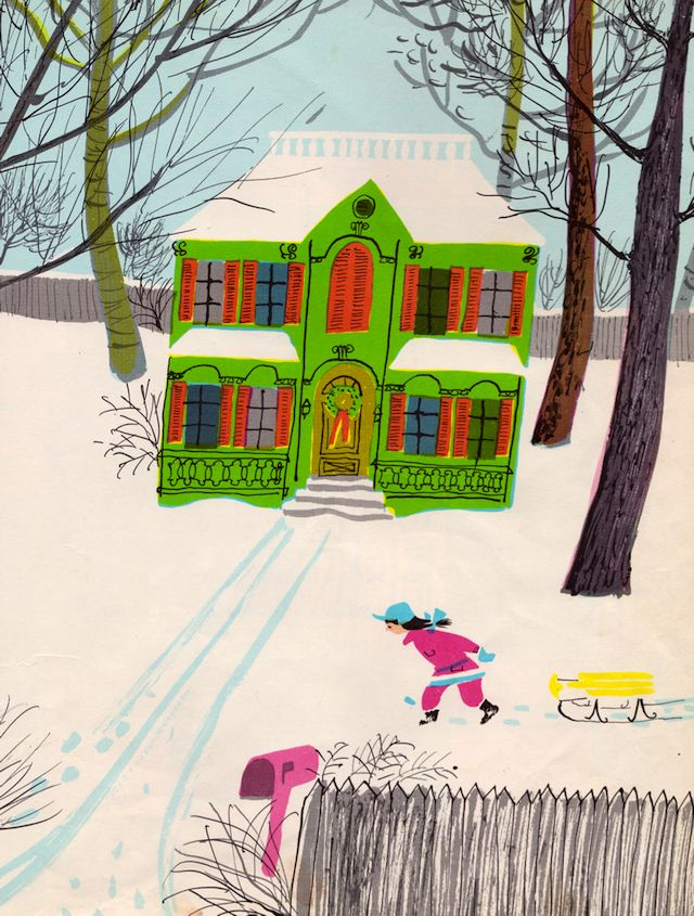 my vintage book collection (in blog form).: The House of Four Seasons - illustrated by Roger Duvoisin