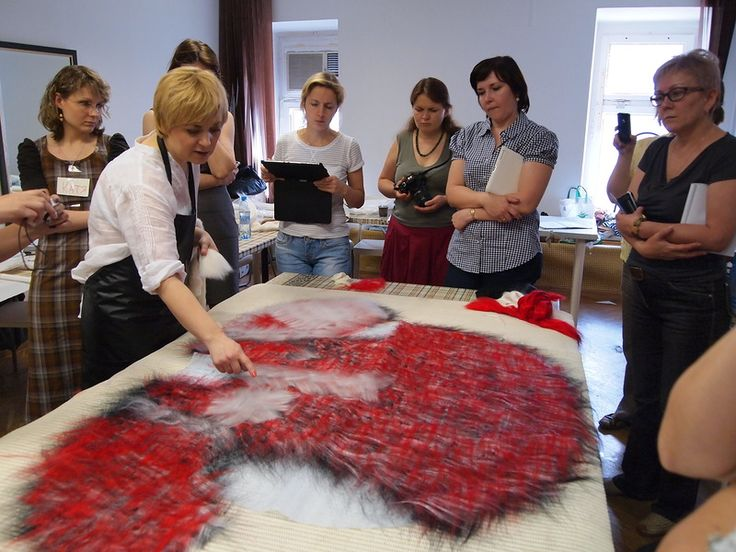 Фотоотчет о семинаре Алёны Селезневой. Продолжение - Ярмарка Мастеров - ручная…