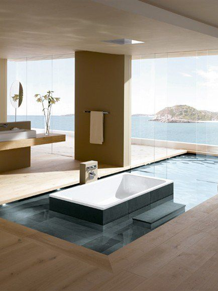 Bathtub BASSINO by @Kaldeweicom  | #design Phoenix Design #bathroom
