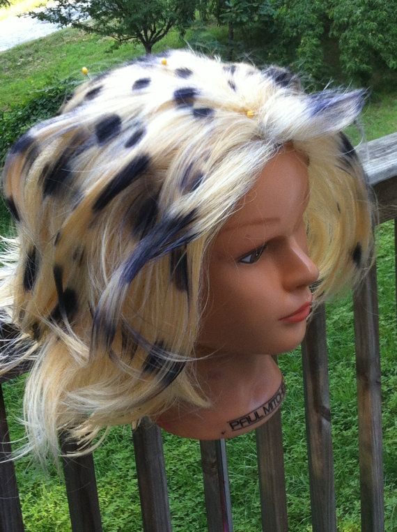 Cheetara Thundercats Cosplay Wig by SupernovaCostuming on Etsy