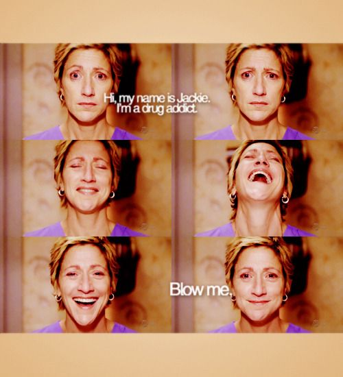 My favourite show ever!!! Fuck Yeah Nurse Jackie