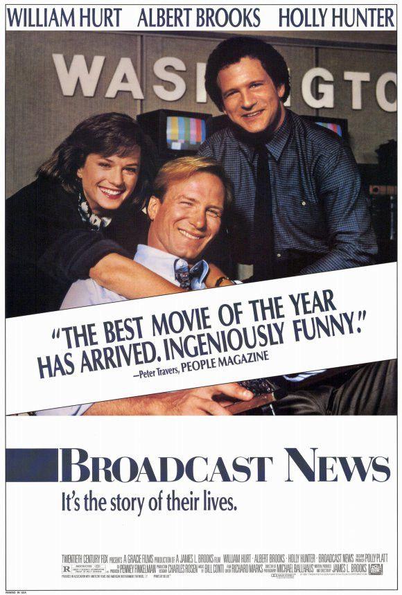 Broadcast News 27x40 Movie Poster (1987)
