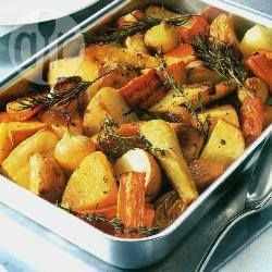 Aquias T: Made this last night and even had some today, delicious even cold! Roast root vegetables with herbs.