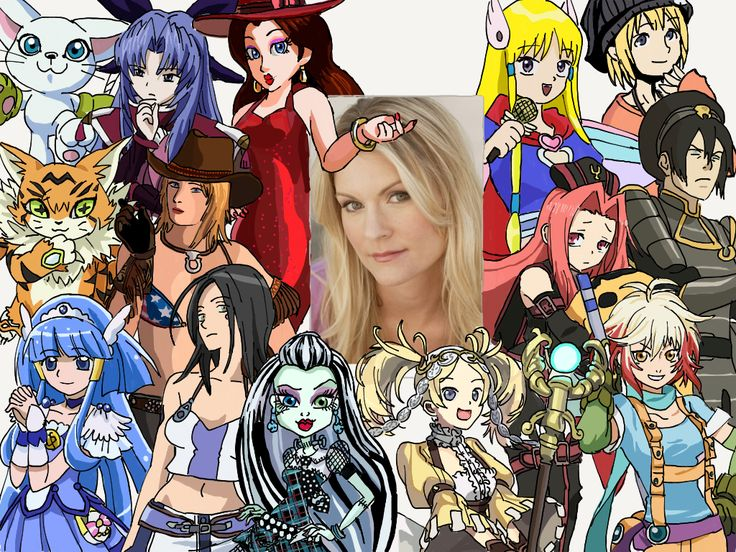 Anime Characters Born On August 8 : Character compilation kate higgins by