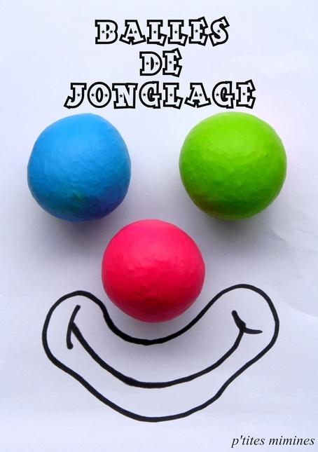 balles de jonglage tuto