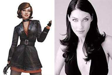 Cate Archer from the No One Lives Forever games was based on model/actres Mitzi Martin