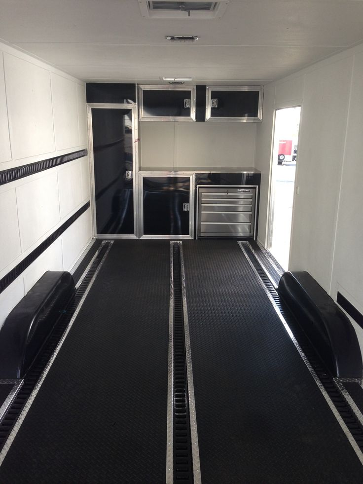 38 Best Enclosed Trailer Interiors Images On Pinterest