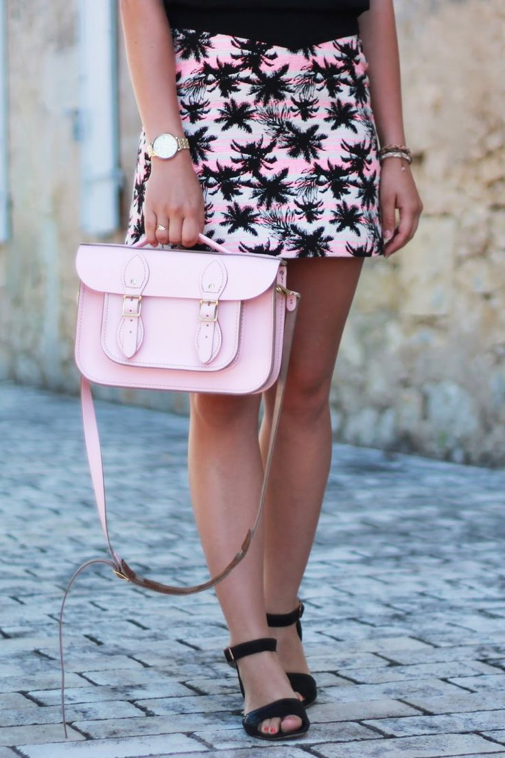 Leather Satchel Co : the cutest pink bag ever <3 #fashion