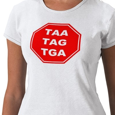 Stop Codon T-shirt. hahahaha Mr. Newbold would love this!