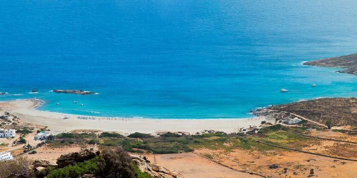 Amazing #beach at Ios island!! #beachThursday #blue #Aegean #greece #cruising