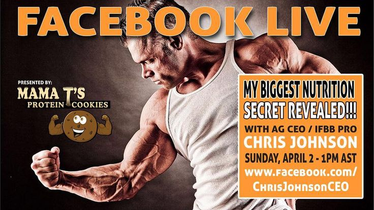 You're invited to a LIVE event!!! Join @advancedgenetics CEO Chris Johnson as he reveals his Biggest Nutrition Secret!  Follow on his #facebook page (link in profile) or on his #instagram page @chrisjohnson_ifbbpro.  #agarmy #wagewar #nutrition #bodybuilding #ifbbpro #nutritionist #bodybuilder #muscle #fatloss #transformation #motivation #health #healthy #fitness #fit #lifestyle #fitfam #follow