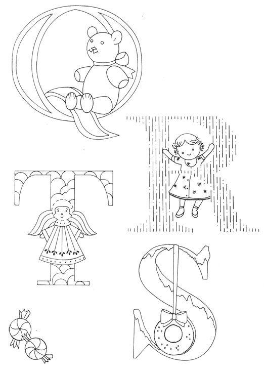 Christmas Alphabet….the last of the letters - Cotton Arts Boutique