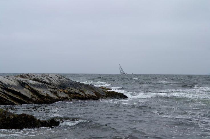 Beavertail Lighthouse, Rhode Island (Маяк Бивертейл, Род-Айленд)