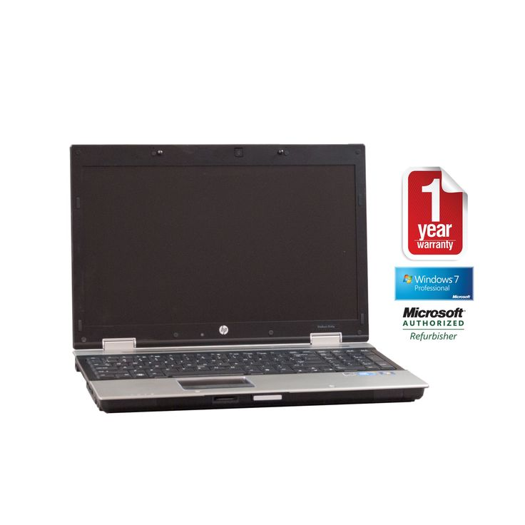 HP 8540P refurbished laptop PC I7 2.67/4GB/320GB/Dvdrw/15.6/Webcam/W7P64