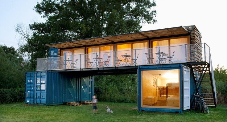 Artkul Architects finds a new use for old shipping containers with this unique hotel design