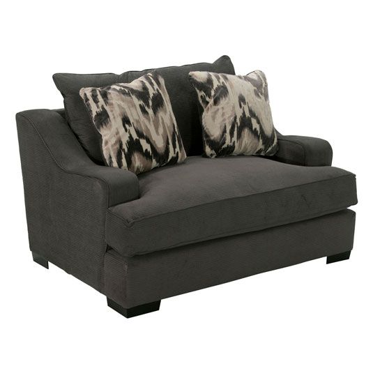 Laguna Living Room Collection Chair In Charcoal Jerome S