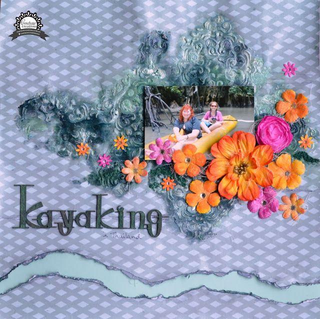 Artdeco Creations Brands: Kayaking by Cindy Porter