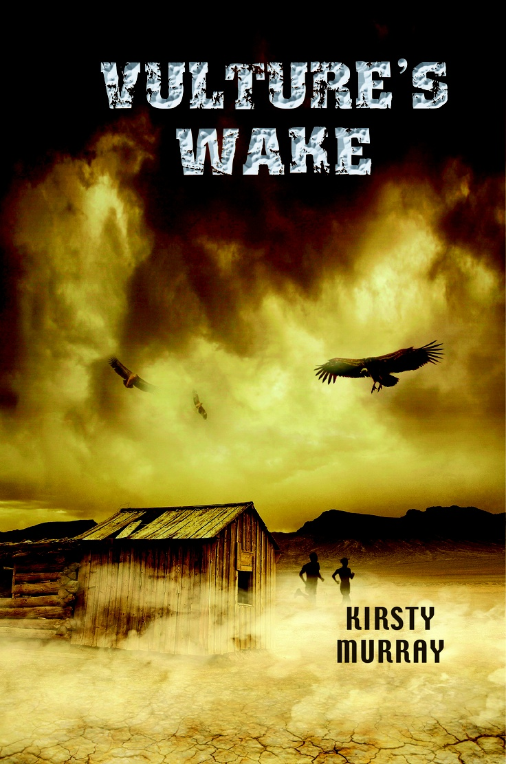 US cover of the American edition of Vulture's Gate - retitled Vulture's Wake