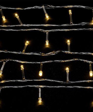 Look at this #zulilyfind! Warm White Solar LED String Lights by GGI International #zulilyfinds