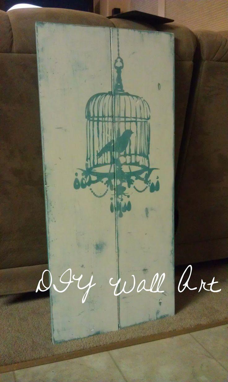 near normalcy diy wall art tutorial canvas decor pinterest