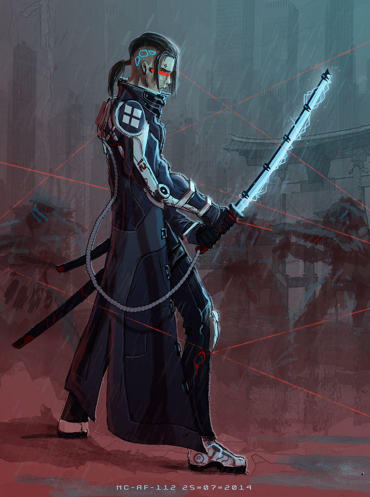 Cyberpunk Jin by AspectusFuturus.deviantart.com on @deviantART