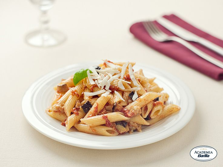 Barilla Penne alla Norma | Holiday Pasta Side Dishes | Pinterest