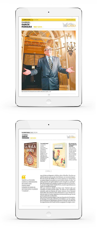 Especial del diario El Espectador de Colombia, el periódico donde el Nobel de literatura Gabriél García Marquez se inició en el periodismo