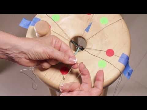Right Hand - Attach tama w/beads - YouTube