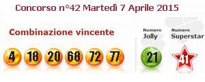Numeropoli la Citta' delle Estrazioni dei Numeri e della Fortuna-estrazioni del 07-04-2015