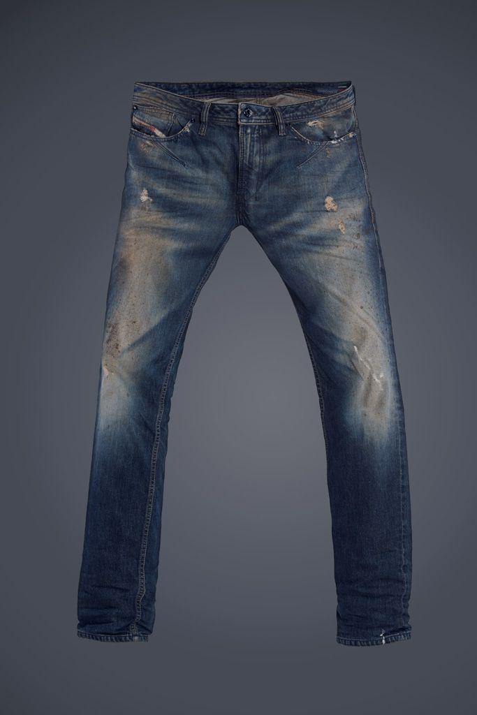Diesel #jeans: Shioner #blueeyecon