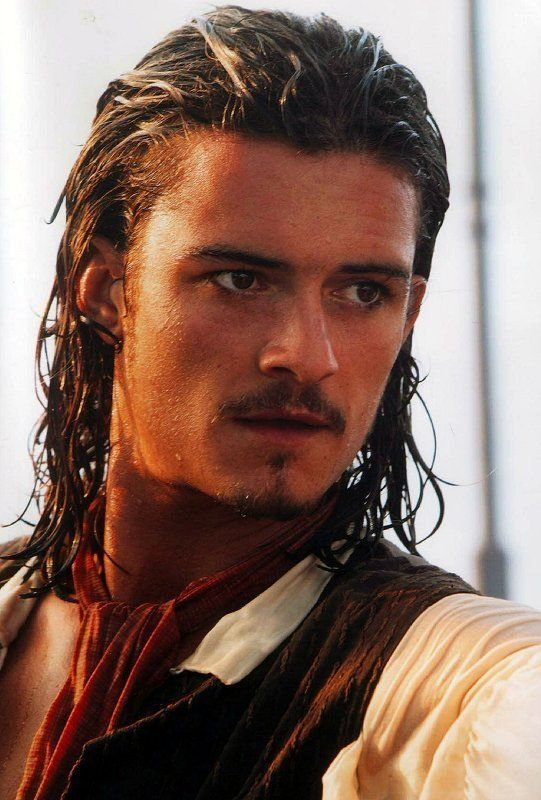 Orlando Bloom, here he is as Will Turner, but I will also take him as Legolas.