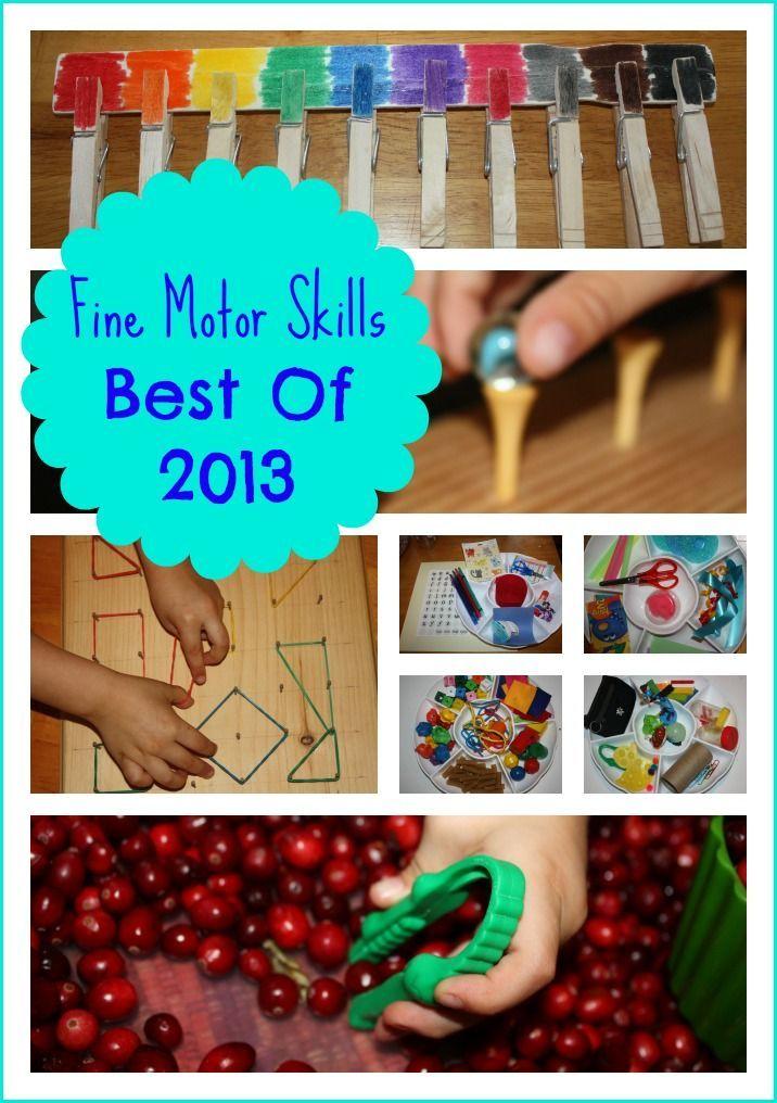 Fine motor skills best of 2013 motor skills montessori for Montessori fine motor skills