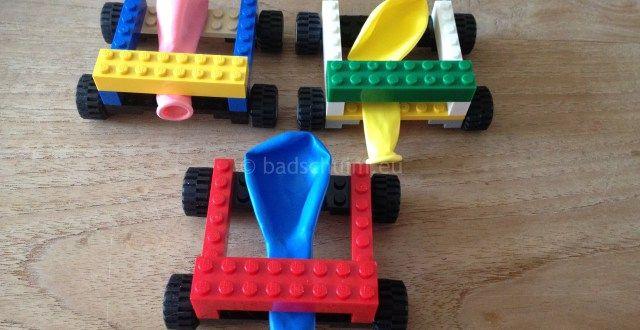 Test hoe snel je ballon leeg loopt op een LEGO auto en maak er een race van! Hierin lees je hoe je de LEGO auto maakt en hoe je kan racen!! #legoauto