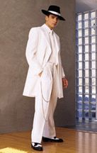 white zoot suit wedding - Google Search