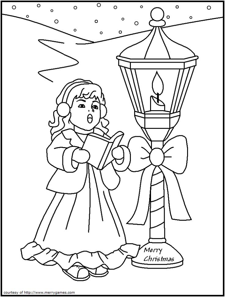Candles amp Lanterns 6 Coloring