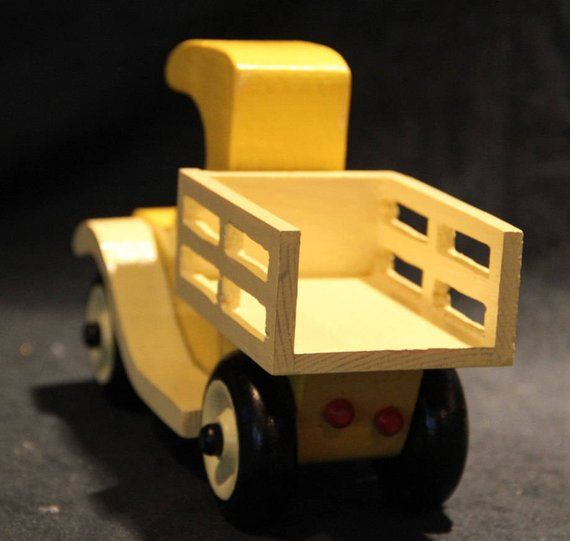 ToyPush Pickup wooden Pull Truck ToysJuguetes ToysFun Wood QBdtsrhCx